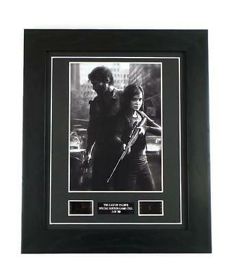 THE LAST OF US VIDEO GAME MEMORABILIA Limited Edition Framed Rare Film Cells