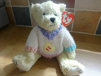 Ty Beanie Attic Treasures Barrymore Jointed Teddy *mint*