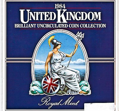 1984 - United Kingdom BU Coin Collection
