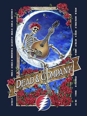Dead And Company Official 2017 Tour Poster & Bob Weir Numbered EdItion Of 3100