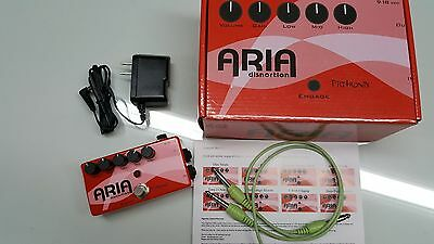 LIKE NEW Pigtronix Aria Disnortion Distortion Guitar Effects Pedal