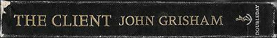 'The Client' Doubleday 1st Edition Hardcover Book by John Grisham