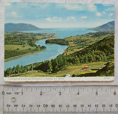 old postcard Carlingford Lough &  Mountains of Mourne, Down, N. I.