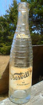 VINTAGE 1949's NESBITT'S ORANGE OF CANADA (10 OZ.) ACL SODA POP BOTTLE - OTTAWA