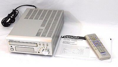 Denon ~UD-M30~ CD System FM Stereo Receiver with Remote & Manual CLEAN!