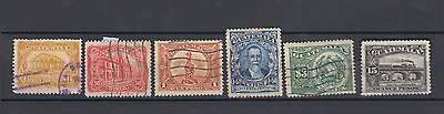 Guatemala 1926 Definitives To 15P Waterlow & Sons Used Selection Train