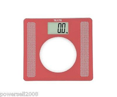 Household Portable Non-slip Red Sqaure Electronic Digital Body Weight Scale