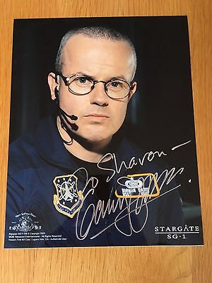 Gary Jones Stargate SG1 signed 8 x 10 photo