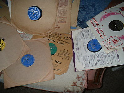 78RPM RECORDS FROM THE 1950s-SET OF EIGHT(set7)