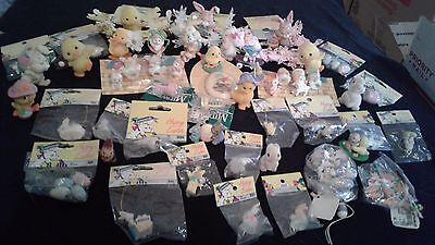 Easter Holiday misc figurines lot