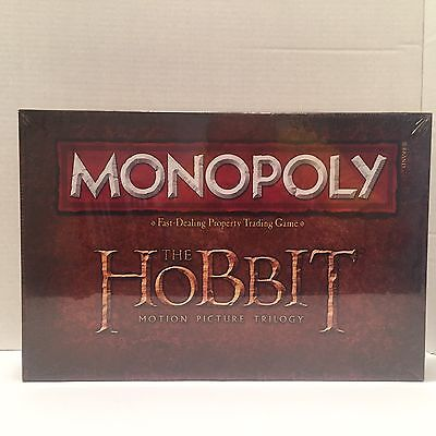Monopoly: The Hobbit Trilogy Edition- Board Game. New/sealed