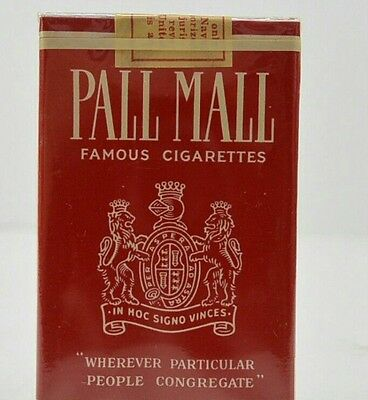 Paquet de cigarettes pall mall us ww2