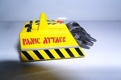 Fab Pullback & Go Minibot Of Rare Panic Attack 4 Bbc Robot Wars Arena