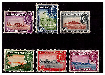 Curacao Early Issue Stamps. 1942. Mounted With Hinge. #1139