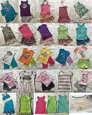 43 Piece - Girls Summer Clothing Lot - Size:10/12 (Justice, TCP & More)