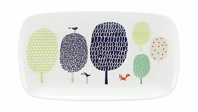 """Kate Spade New York Hopscotch Drive Hors D'Oeuvres Tray Platter 13"""" Lenox NEW"""
