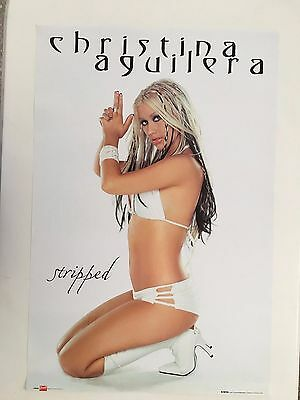 Christina Aguilera,'stripped',authentic,officially Licensed 2005 Poster