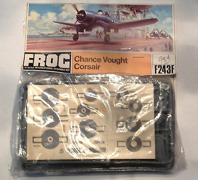 Frog Vought F4U Corsair F243F 1/72 Scale Model Kit
