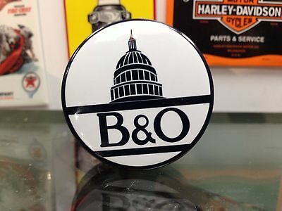 the original B & O full backed refrigerator RAILROAD MAGNET