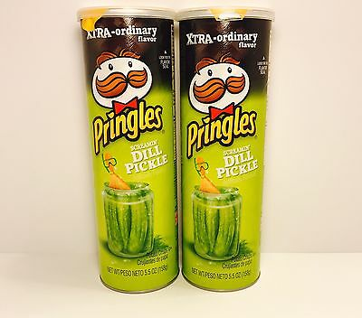 Dill Pickle Pringles XTRA-ORDINARY FLAVOR!!!