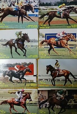 Set 1 1980's Horse Racing Playing Cards