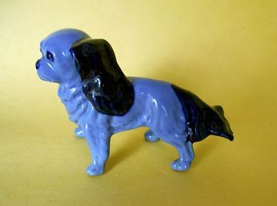 Vintage Fine Porcelain Cavalier King Charles Spaniel Dog Figurine Germany Marked