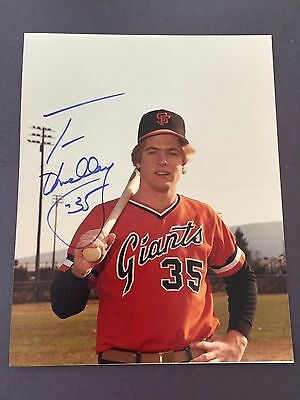 Tom O'malley Signed 8X10 Photo Auto Autograph Manager, San Francisco Giants