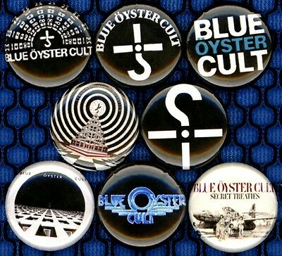 Blue Oyster Cult 8 NEW button badge pin BOC