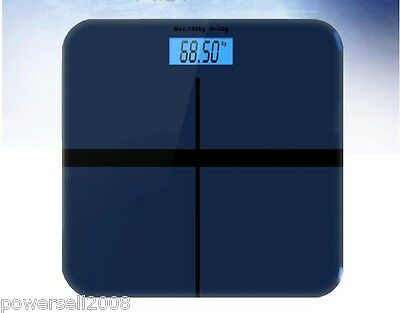 Household Portable Electronic Dark Blue Digital Body Weight Scale