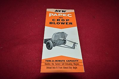 Papec 48H Forage Blower Dealers Brochure YABE13