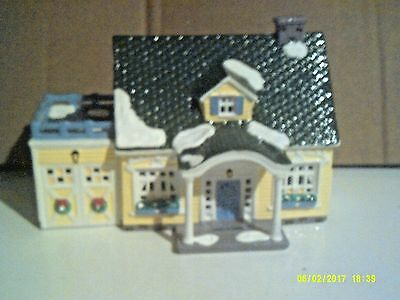Dept 56 Snow Village - North Creek Cottage - Mib With Light Cord