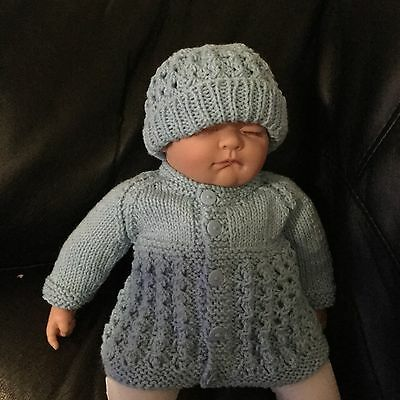 Hand Knitted -Baby Boys Set