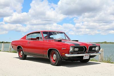 1969 Plymouth Barracuda  1969 Plymouth Barracuda M code 440