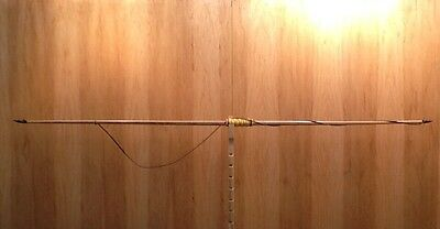 "Hickory Backed Tri-Lam English Longbow 45#@28"" 55#@32"" 72"" Overall"