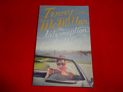 THE INTERRUPTION OF EVERYTHING  BY  TERRY McMILLAN( LARGE PAPERBACK BOOK )^