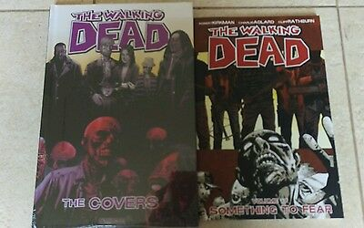 The Walking Dead The Covers Hardcover NEW Plus Free vol 17 paperback