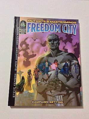 Mutants & Masterminds RPG Freedom City Campaign Settings HC GRR2002 NEW
