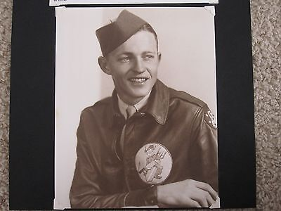 Lot 2 of 5 - Photo Album with 528th Bomb Squadron patch art and Photos