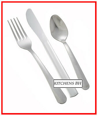 180 pc. Windsor Flatware Medium Weight - Forks Teaspoons Knives - Brand New