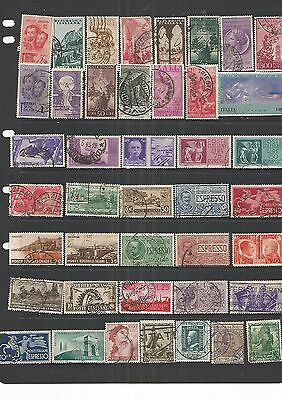 Italy 42 Used Stamps  , Nice,See Scan.