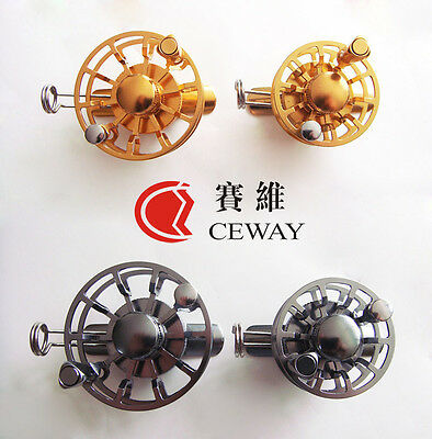 Winter Reels HK45 HK55 All Metal Fish Coil Ice Fishing Reel Tackle Light Gear