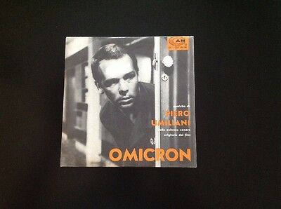 PIERO UMILIANI. OMICRON 45rpm Extended Play O.ST. great Jazz CAM Italy 1963
