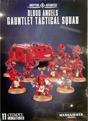 40K Blood Angels Gauntlet Tactical Squad NEW