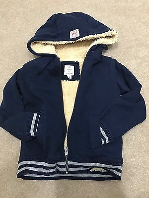 Country Road Boys Size 7 Hooded Jacket EUC