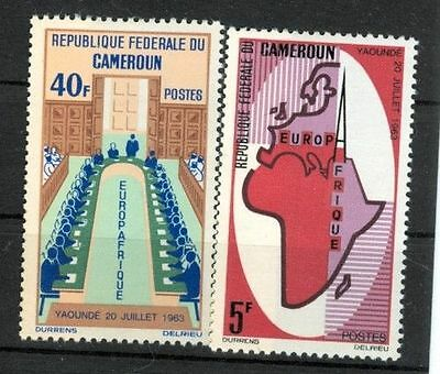 CAMEROUN SC 420-21, 1965 European and African Economic issue, set of 2. MNH.
