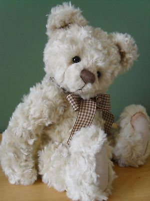"Charlie Bears NORA *NEW* 13.5"" Plush Bear"