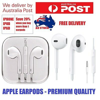 PREMIUM - 3.5mm Digital Earphones - Earpods for Apple iPhone 6 6s 5s 5 IPAD IPOD