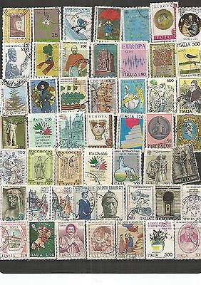 Italy 49 Used Stamps , See Scan.