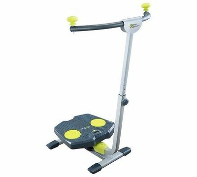 twist and shape exercise machine with workout dvd