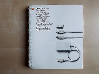 Apple Computer LocalTalk Cable System Owner's Guide - NEW, sealed